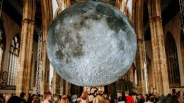 The Museum of The Moon installation was the biggest draw to Hull Minster in 2018, attracting 82,000 people. Picture: Tom Arran/Freedom Festival