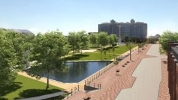 The first phase of the Queens Gardens masterplan will provide enticing open spaces, improved access and seating.