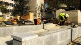 Hull Cenotaph ramp installation