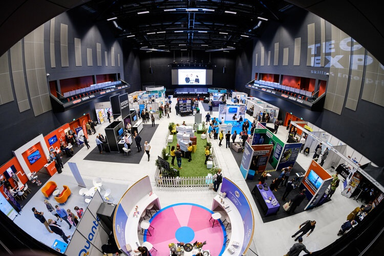 The Bonus Arena during last year's Tech Expo Humber.