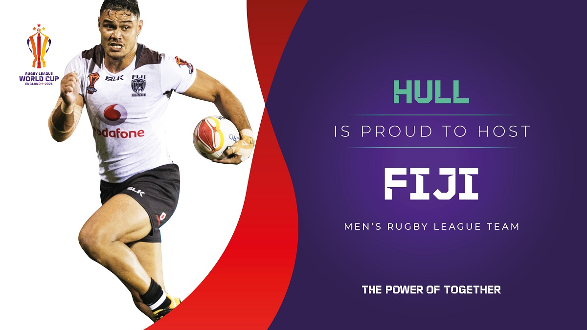 Hull will act as the training base for Fiji's men's team