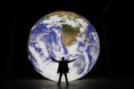Gaia by Luke Jerram. Picture: Natural Environment Research Council