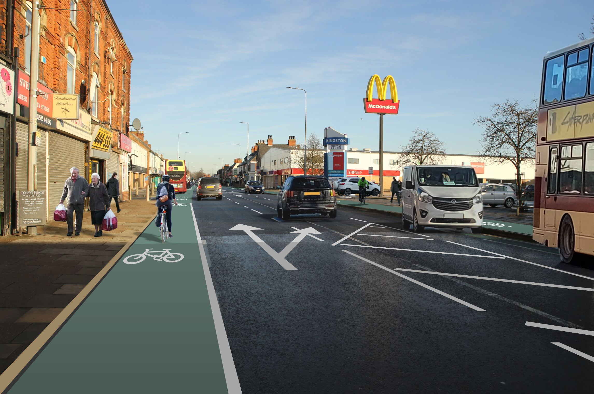 Holderness Road visual one
